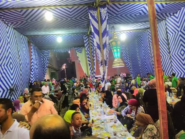 الشراقوة يشاركون نزلاء دار بسمة للإيواء حفل الإفطار الجماعي (صور)