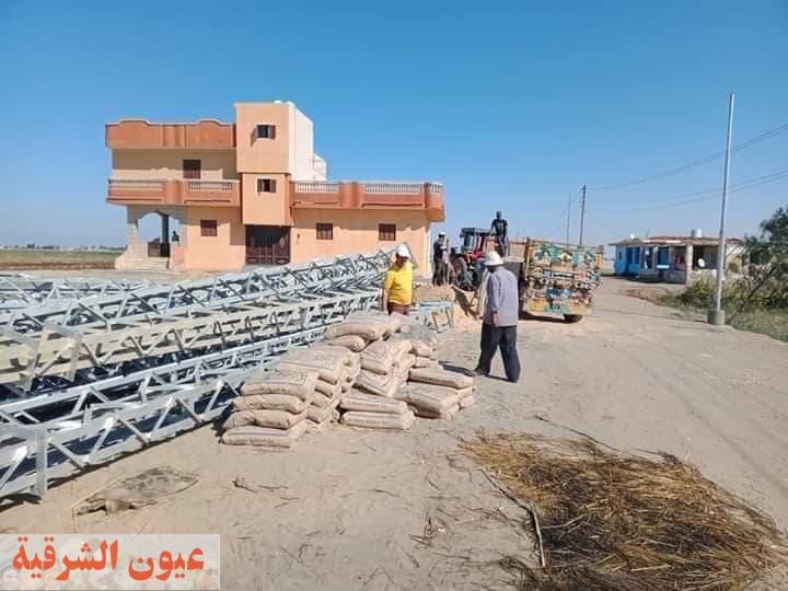2 مليون و300 ألف جنيه لتحسين مستوى خدمة الكهرباء بقرية جلبانة بمدينة القنطرة شرق