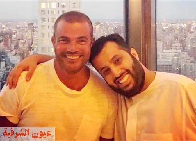 تركي آل شيخ يفاجئ عمرو دياب بآخر أغاني ألبوم الهضبة الجديد