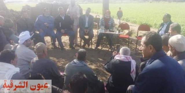 زراعة الشرقية تنفذ يوم حقل إرشادي للمزارعين بقرية العكل بديرب نجم