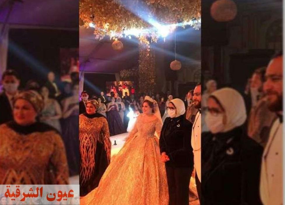 صور متداولة لوزيرة الصحة بحفل زفاف يثير غضب رواد مواقع التواصل الاجتماعي