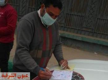 تحصيل غرامة فورية من 86 مواطن لعدم إلتزامهم بإرتداء الكمامة الواقية بمدينة الزقازيق