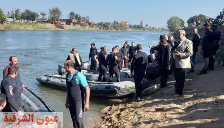 30 غواص يبحثون عن غريق الزوامل ببلبيس