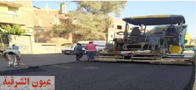محافظ الشرقية يُتابع أعمال إستكمال رصف طريق منيا القمح / مشتول السوق بتكلفة 8 مليون جنيه