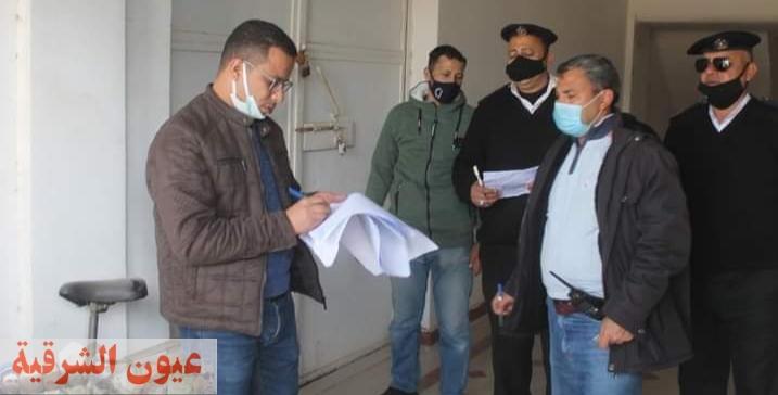 رئيس جهاز السادات: غلق وتشميع 8 محال و 5 بدرومات مخالفة بالمدينة