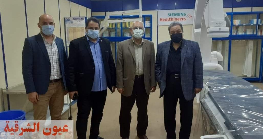 للمرة الأولي بالشرقية...إعتماد قسم القلب والأوعية الدموية بمستشفى الزقازيق العام ضمن برنامج الزمالة المصرية
