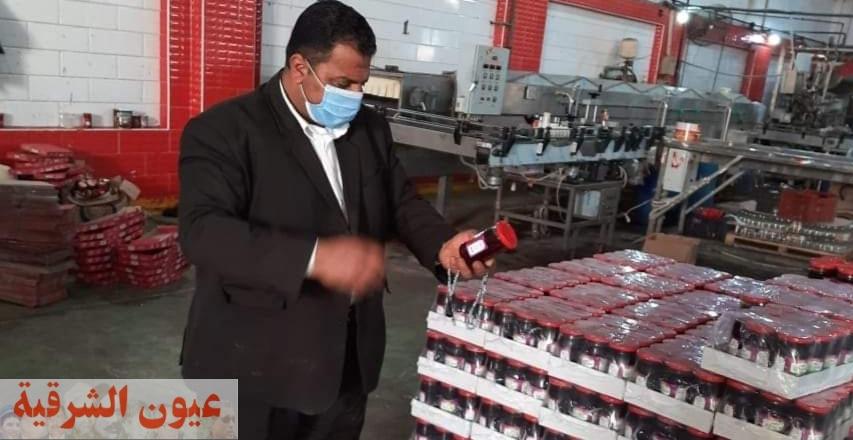 إعدام أكثر من طن ونصف أغذية فاسدة وغلق ٢٠ منشأة غذائية مخالفة بالشرقية
