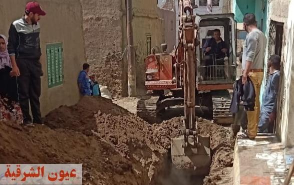 النائب حاتم عبدالعزيز : جارى تحويل خط الصرف الصحي بقرية القراموص بأبوكبير سبب المشكلة وعمل خط بديل لحل المشكلة نهائياً