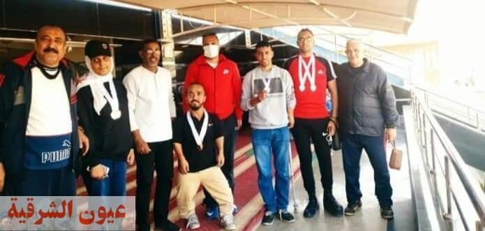 جامعة الزقازيق تحصد 15 ميدالية من بطولة الجامعات المصرية