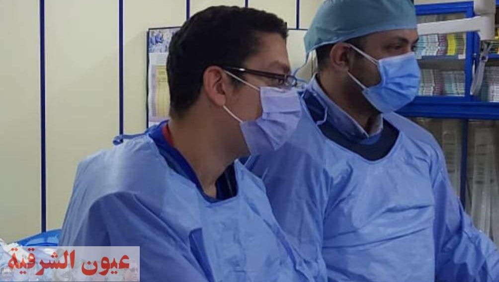إجراء ٥ حالات قسطرة قلبية بمستشفي الزقازيق العام ليصل الإجمالي ٤١٣