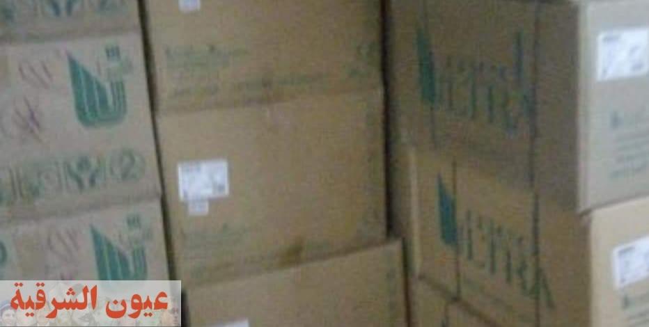 الحصول على ١٥ ألف قطعة مستلزمات طبية مجهولة المصدر داخل شركة بالقاهرة