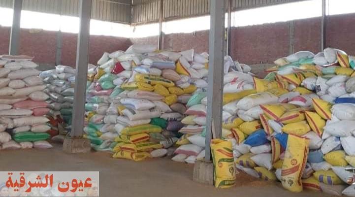 إستئناف العمل داخل 47 مركز تجميع لإستلام القمح بمحافظة الشرقية