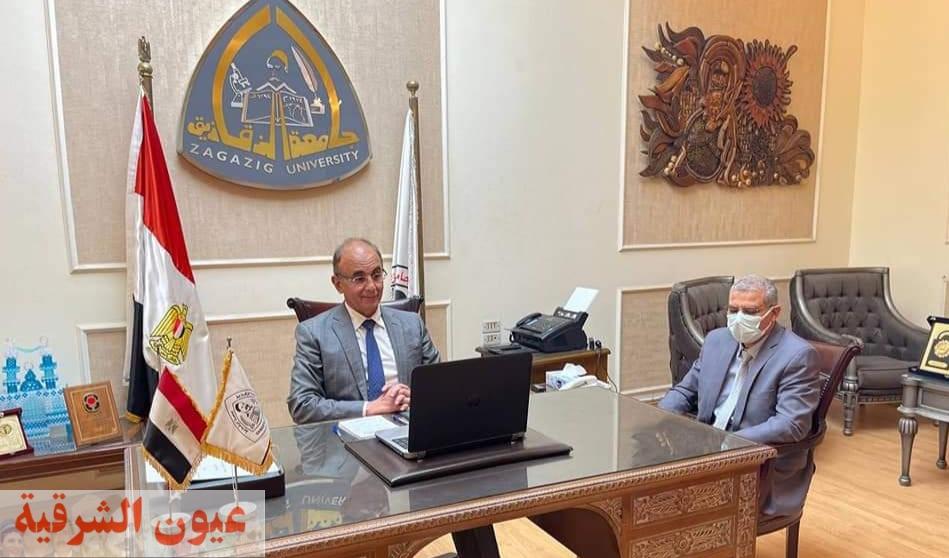جامعة الزقازيق توقع بروتوكول تعاون مع وزارة الإتصالات لإنشاء مركز إبداع مصر الرقمية بالجامعة