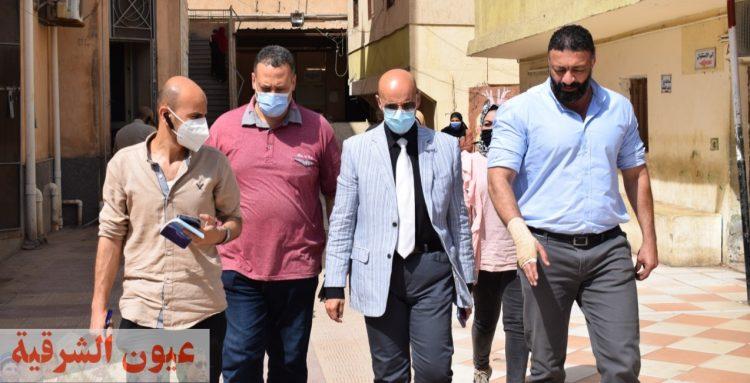 مسعود يتفقد سير العمل وأعمال التطوير الجارية بمستشفي الزقازيق العام