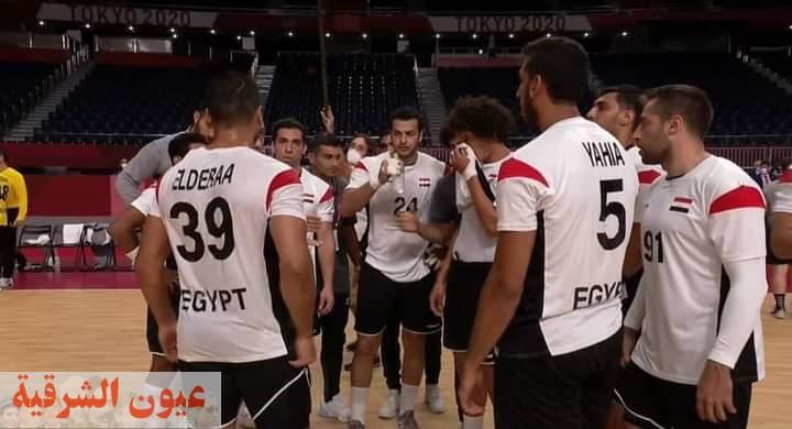 رسمياً.. منتخب مصر لكرة اليد إلى ربع نهائي الأولمبياد عقب الفوز على السويد بنتيجة 27-22
