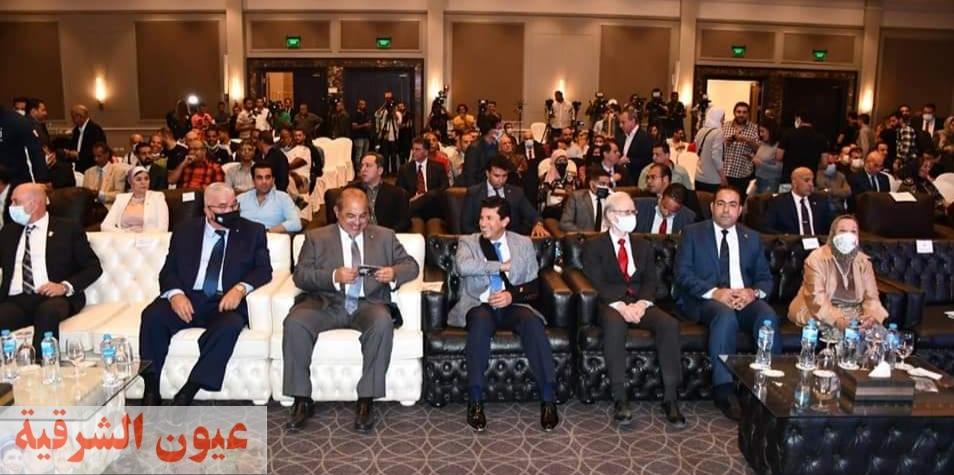 صبحي وحطب يشهدان المؤتمر الصحفي لكشف تفاصيل البعثة المصرية بأولمبياد طوكيو