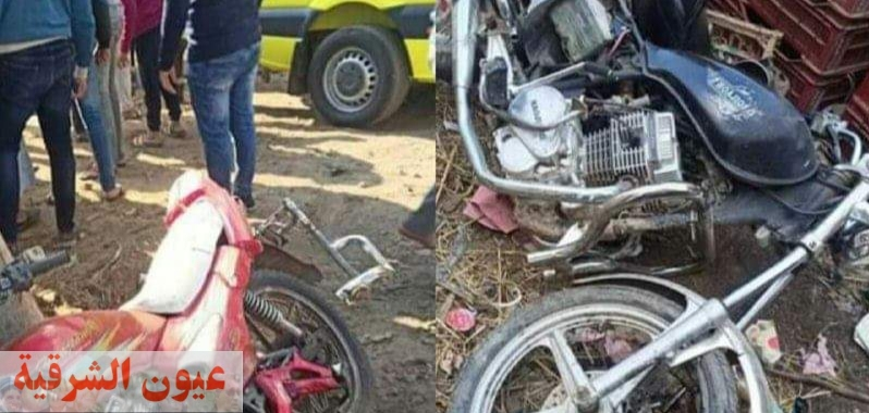 مصرع شخص وإصابة 4 آخرين في تصادم بالشرقية