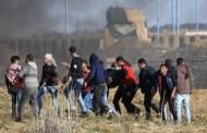 7 شهداء بينهم طفلان على حدود غزة