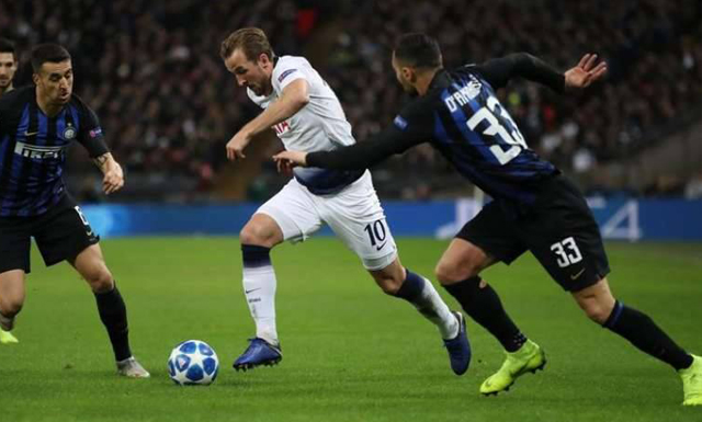 توتنهام يحسم قمة المجموعة الثانية من دوري أبطال أوروبا