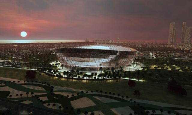 قطر تكشف عن تصميم مذهل لاستاد لوسيل