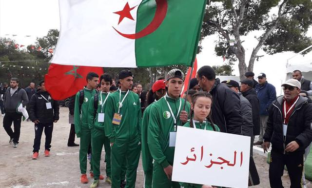إختتام البطولة المغاربية للعدو الريفي بساقية سيدي يوسف