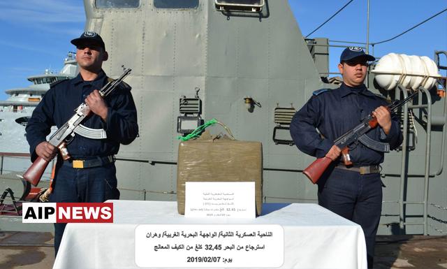 حراس السواحل .. حجز أكثر من 30 كيلوغرام من الكيف المعالج بوهران