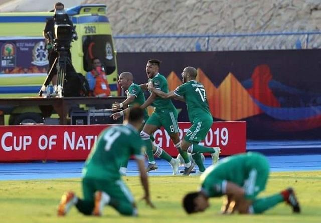 ''الخضر'' يطيحون بالفيلة و يتأهلون لنصف نهائي أمم إفريقيا