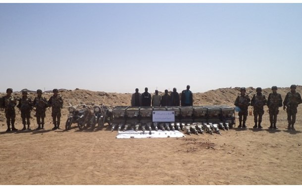 الجيش الوطني الشعبي يكشف عن (04) مخابئ للإرهابيين بمنطقة بني فضالة بباتنة.