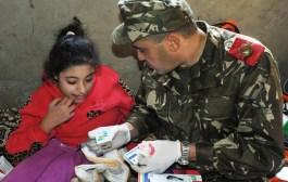 الجيش الوطني الشعبي.. التكفل الطبي بمواطني المناطق النائية لولاية جيجل