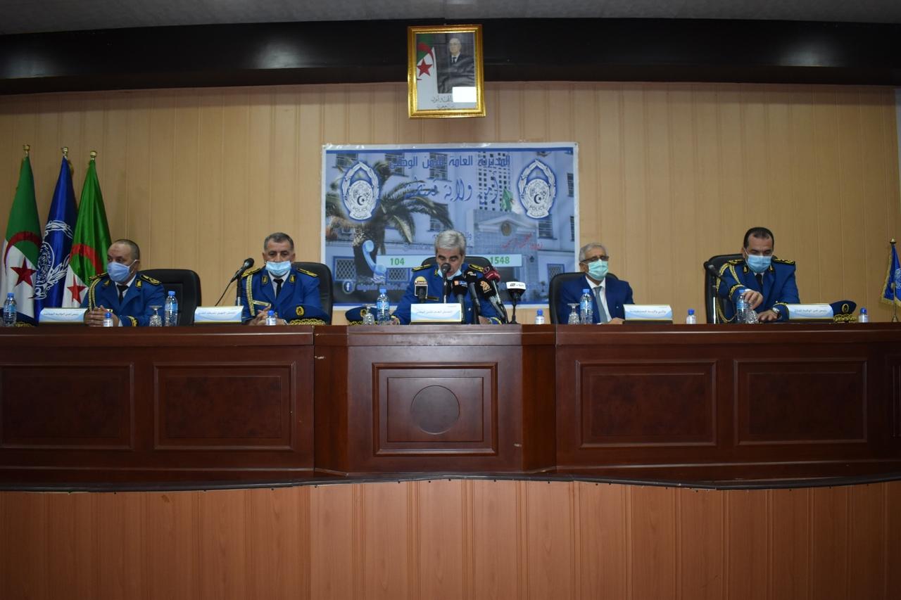مراسيم تنصيب السيد مراقب الشرطة/بوتيرة رشيد رئيسا لأمن ولاية قسنطينة