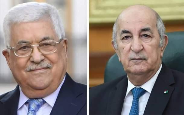الجزائر فلسطين : بيان رئاسة الجمهورية الجزائرية.