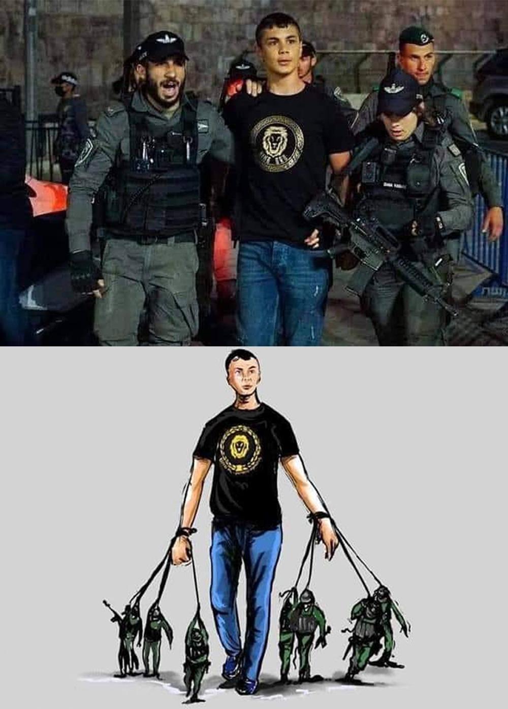 فلسطين.. الصورة أبلغ من الكلام