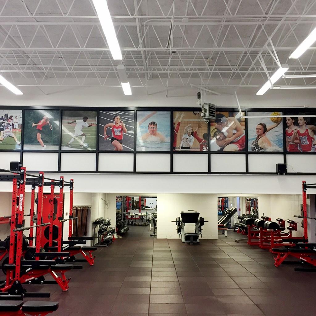 Mundelein High School Weight Room
