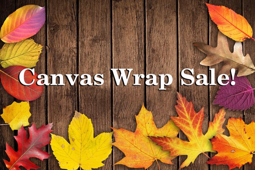 Canvas Wrap Sale