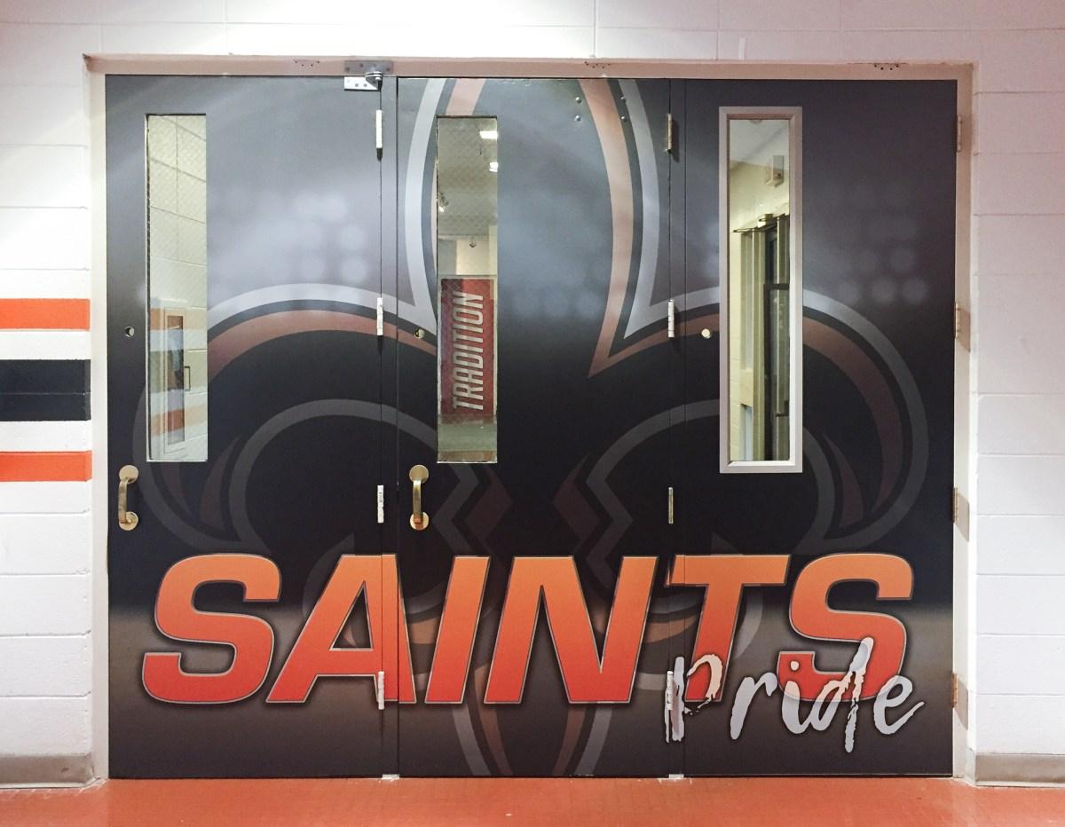 St. Charles East vinyl wrapped doors