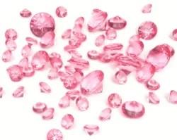 Spalvotais deimantais paremta kriptovaliuta PinkCoin