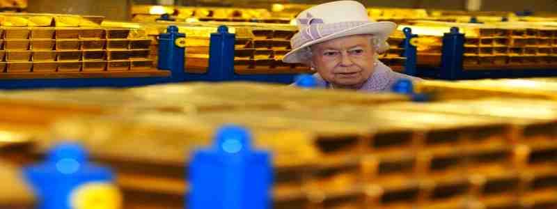Griaunam mitus. Kiek aukso turi Anglijos bankas?