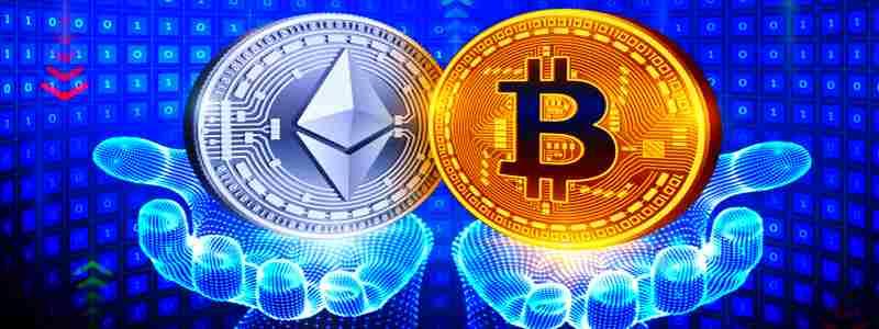 Kriptorinkų apžvalga 2021-04-22. Ether vs Bitcoin
