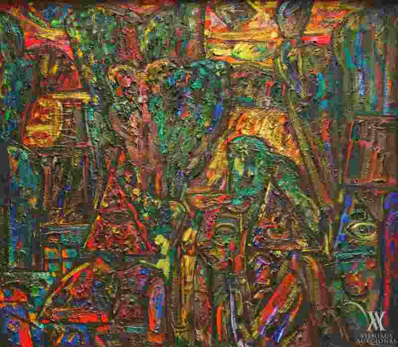 LXIX Vilniaus aukciono kolekcijos intriga – ankstyvas P.Kalpoko kūrinys