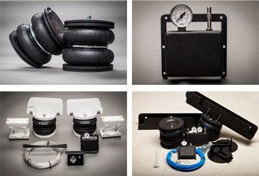 Our air suspension kits are especially designed to be used for horseboxes.
