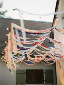 streamers and lights