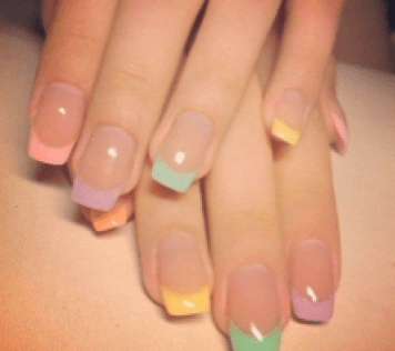 """""""15 Fashionable French Tip Nail Designs - Styles Weekly."""" Styles Weekly. Styles Weekly, 09 July 2015. Web. 23 Feb. 2016."""