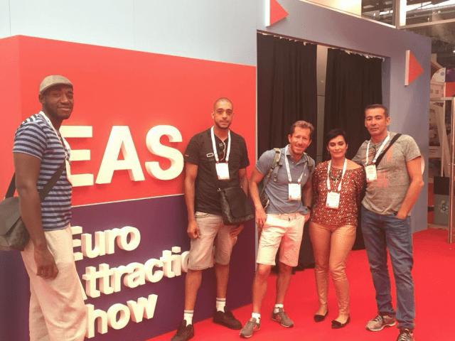 L'équipe Air2jeux à l'EAS 2016