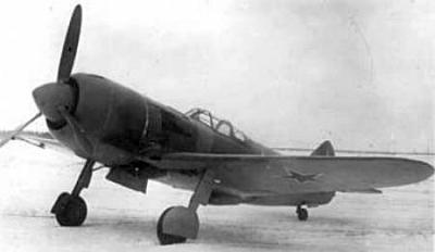 Самолет Ла-5. Фото
