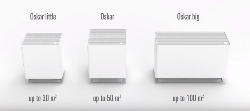 Famille-Oskar évaportaeur humidificateur d'air design