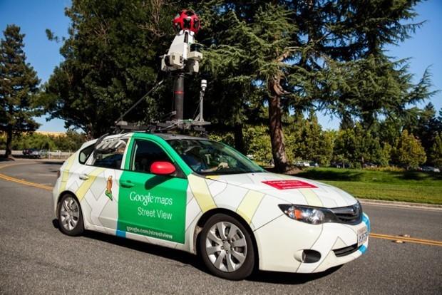 Les voitures de Google Street View ont été mises à contribution pour mener à bien l'étude.