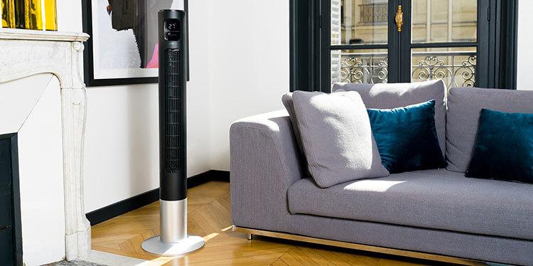 Ventilateur colonne FANTASY Noir – air&me