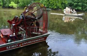 Kalamazoo River - Semo Environmental Airboat