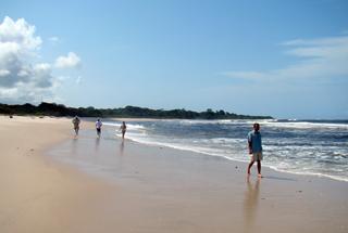 Pte. Ste. Cathérine Beach Camp - beach