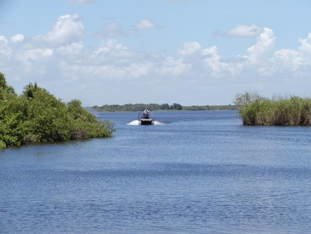 Airboating in Brevard County, Florida